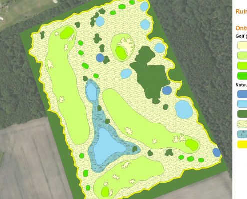 Uitbreiding Oosterhoutse Golfclub
